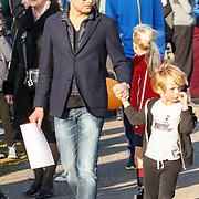 NLD/Biddinghuizen/20150308 - De Hollandse 100 by Lymph & Co, Pr. Bernhard Jr. en kinderen Sam en Benjamin van Oranje
