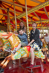 @Licensed to London News Pictures 19/06/15. Margate, Kent. Dreamland Margate reopens its doors today 19/06/15. Dreamland Margate the UK's original pleasure park contains over 17 restored and refitted rides and amusements, re-opens to the public after over a decade of closure. Photo credit: Manu Palomeque/LNP