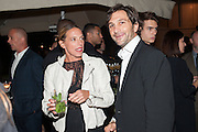 TIPHAINE DE LUSSY; EDUARDO ESTRADA;, Dinner to celebrate the opening of the first Berluti lifestyle store hosted by Antoine Arnault and Marigay Mckee. Harrods. London. 5 September 2012.