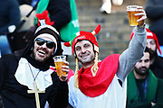 Scotland supporters during the Guinness Six Nations 2020, rugby union match between Italy and Scotland, Saturday Feb. 22, 2020,in Rome, Italy. (Federico Proietti/ESPA-Images-Image of Sport)