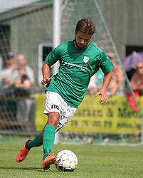 Danni Jensen (Avarta) under kampen i 2. Division Øst mellem Boldklubben Avarta og FC Helsingør den 19. august 2012 i Espelunden. (Foto: Claus Birch).