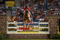 Sprunger Janika, (SUI), Bonne Chance Cw<br /> Individual competition round 3 and Final Team<br /> FEI European Championships - Aachen 2015<br /> © Hippo Foto - Jon Stroud<br /> 21/08/15