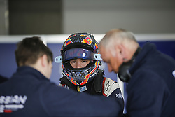 March 6, 2018 - Le Castellet, France - ARTEM MARKELOV of Russia and Russian Time during the 2018 Formula 2 pre season testing at Circuit Paul Ricard in Le Castellet, France. (Credit Image: © James Gasperotti via ZUMA Wire)