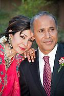 Wedding couple, of Pakistani and Kashmiri descent.