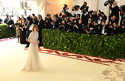 Anna Wintour attending the Metropolitan Museum of Art Costume Institute Benefit Gala 2018 in New York, USA.