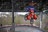 #202 (VAN DE GROENENDAAL Kevin) NED at the 2018 UCI BMX Superscross World Cup in Saint-Quentin-En-Yvelines, France.