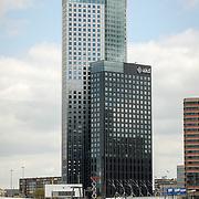 NLD/Rotterdam/20170509 - hoofdkantoor van Deloitte gevestigd in de Maastoren