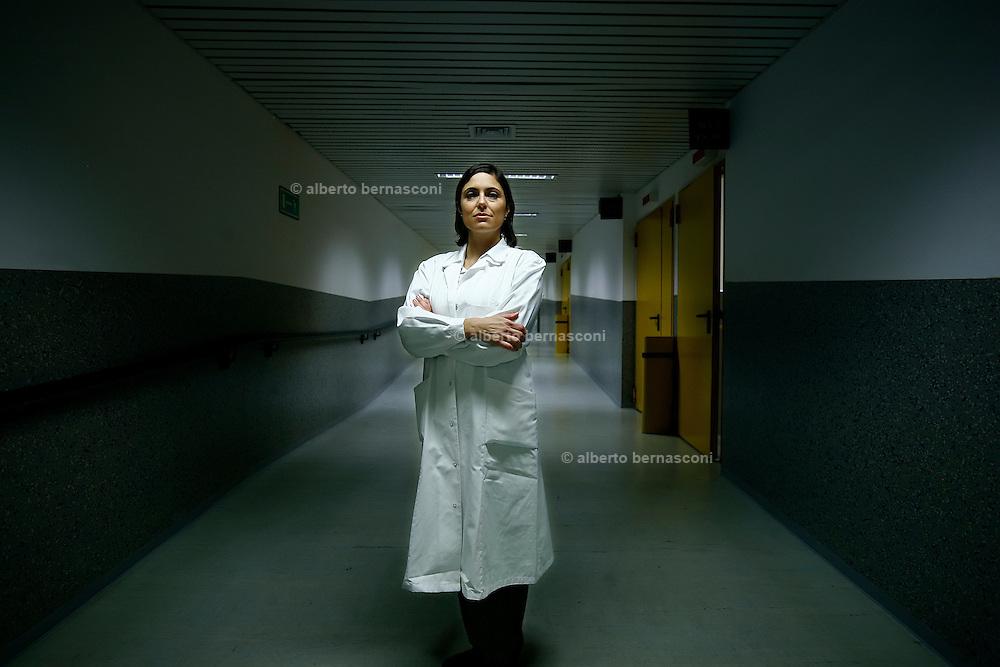 Monza, Universita Bicocca , la ricercatrice in nanotecnologie Ilaria Rivolta