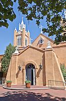Church of San Felipe De Neri, Albuquerque Old City, New Mexico, USA.