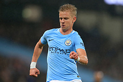 24th October 2017 - Carabao Cup (4th Round) - Manchester City v Wolverhampton Wanderers - Oleksandr Zinchenko of Man City - Photo: Simon Stacpoole / Offside.