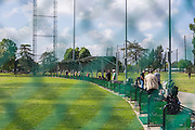 Driving Range at Glen Oaks Golf & Learning Center on Dawson Avenue in Glendora