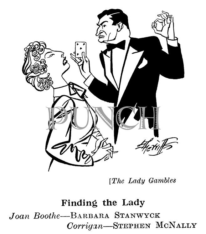 The Lady Gambles ; Barbara Stanwyck and Stephen McNally