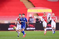 January 19, 2019 - Monaco, France - 44 CESC FABREGAS (MONA) - 26 ADRIEN THOMASSON  (Credit Image: © Panoramic via ZUMA Press)