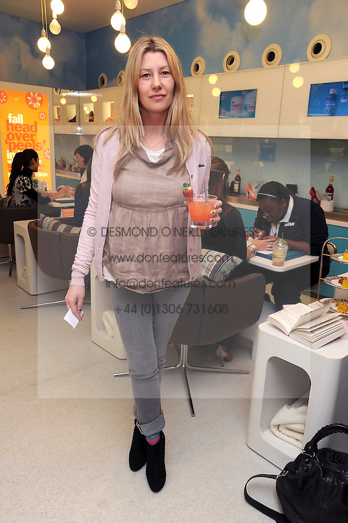 SARA PARKER BOWLES at a party to celebrate the publication of Camilla Morton's book 'A Year in High Heals' held at Bliss Spa, 60 Slaone Avenue, London on 5th February 2009.
