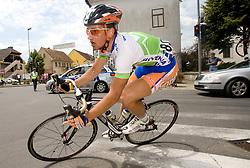 Alan Majersic  (SLO) of Slovenian National Team after start in Sentjernej of the 4th stage of Tour de Slovenie 2009 from Sentjernej to Novo mesto, 153 km, on June 21 2009, Slovenia. (Photo by Vid Ponikvar / Sportida)