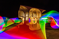 Hayam Sun Temple by Josh Haywood  London, UK (Light Painting By Me Done In-Camera)