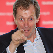 Former Labour spin doctor Alastair Campbell on Labour campaign trail helping to launch Ken Macintosh re-election campaign. The former Labour communications director will speaking with activists and taking part in a Q&A with party members.