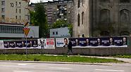Walka na plakaty wyborcze na ulicach Białegostoku