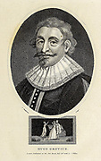 Hugo Grotius (10 April 1583 – 28 August 1645, also known as Huig de Groot and Hugo de Groot) was a Dutch humanist, diplomat, lawyer, theologian, jurist, poet and playwright. Copperplate engraving From the Encyclopaedia Londinensis or, Universal dictionary of arts, sciences, and literature; Volume IX;  Edited by Wilkes, John. Published in London in 1811