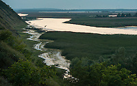 Danube Delta landscape, Somova-Parches, close to Somova village, upper Danube Delta, Romania.