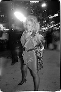 Sally Kirkland, Actor studio film benefit. Peter Marc Gallem, 1988© Copyright Photograph by Dafydd Jones 66 Stockwell Park Rd. London SW9 0DA Tel 020 7733 0108 www.dafjones.com