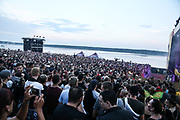 Helene Beach Festival 2018, Helenesee, Frankfurts Oder, 27.07.2018<br /> Bausa (Hip Hop)<br /> © Torsten Helmke