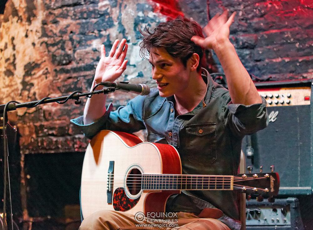 London, United Kingdom - 11 April 2013.Musician and model Sam Way performing at 12 Bar Club, Soho, London, England, UK..Contact: Equinox News Pictures Ltd. +448700780000 - Copyright: ©2013 Equinox Licensing Ltd. - www.newspics.com.Date Taken: 20130411 - Time Taken: 210459