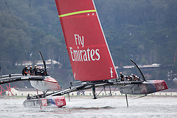 Oracle Team USA vs. Emirates Team New Zealand, Oracle Team USA wins race 13 After the first race of the day was abandoned because they reached the time limit of 40 minutes while ETNZ was leading and looked like to win the the America's Cup, Score is now 8-3 in favor of ETNZ. September 20th, San Francisco.