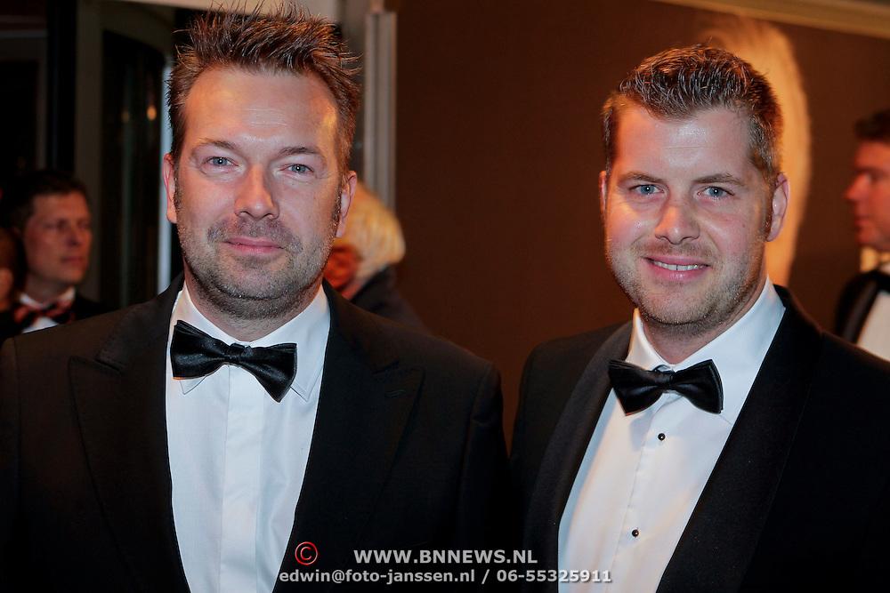 NLD/Amsterdam/20111017 - Premiere De Heineken Ontvoering, Jeroen Kijk in de Vegte en partner