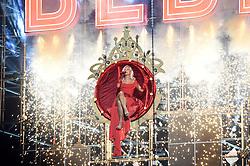 Bebe Rexha treedt op tijdens de MTV European Music Awards (EMA) bij Ahoy Rotterdam. Robin utrecht