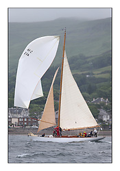Day two of the Fife Regatta,Passage race to Rothesay.<br /> <br /> Solway Maid, Roger Sandiford, GBR, Bermudan Cutter, Wm Fife 3rd, 1940<br /> * The William Fife designed Yachts return to the birthplace of these historic yachts, the Scotland's pre-eminent yacht designer and builder for the 4th Fife Regatta on the Clyde 28th June–5th July 2013<br /> <br /> More information is available on the website: www.fiferegatta.com
