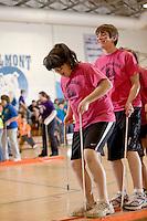 Belmont Middle School Winter Carnival festivities February 19, 2010.