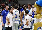Capo dOrlando 15 Novembre 2015<br /> BASKET Lega A Beko<br /> Betaland Orlandina Basket - Vanoli Cremona<br /> NELLA FOTO delusione orlandina<br /> FOTO CIAMILLO