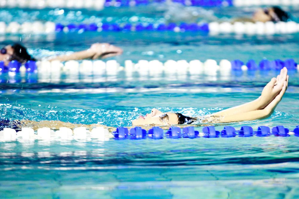 Belo Horizonte_MG, Brasil...Treino da equipe de natacao do Minas Tenis Clube em Belo Horizonte, Minas Gerais...Swimming team training at Minas Tenis Club in Belo Horizonte, Minas Gerais...Foto: BRUNO MAGALHAES / NITRO