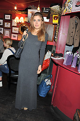 JESSICA NAYLOR-LEYLAND at a party to celebrate the best of W&W Jewellery held at Barts, 87 Sloane Avenue, London on 26th November 2012.