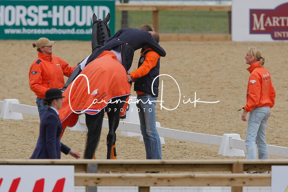 Gal Edward, Minderhoud Hans Peter<br /> European Championship Dressage Windsor 2009<br /> Houtzager Marc (NED) - Opium VS
