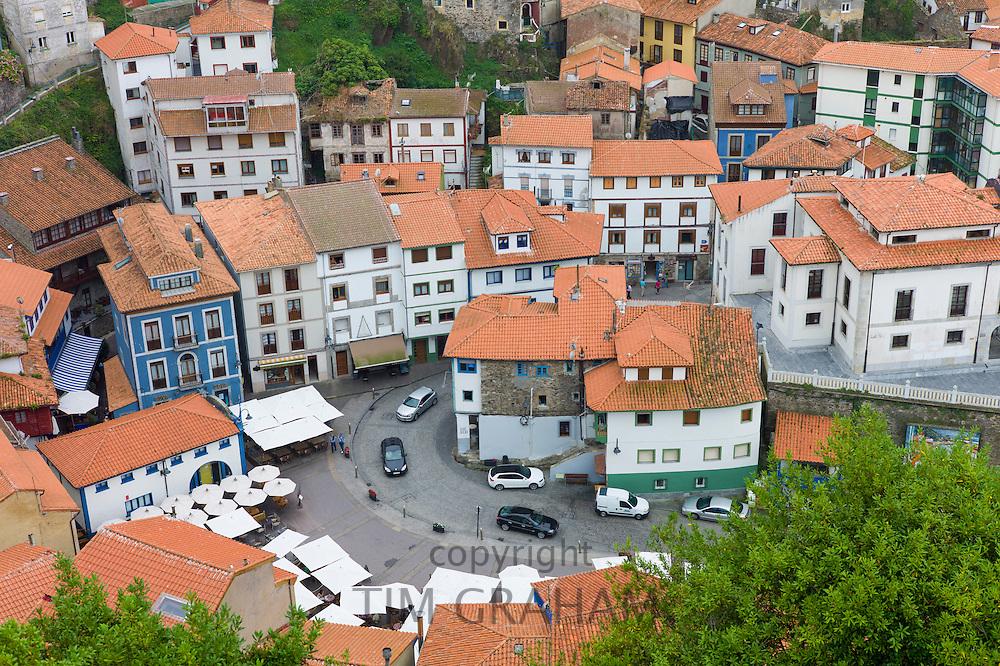 Fishing village of Cudillero in Asturias, Spain