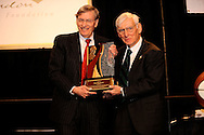 Major League Baseball Commissioner Bud Selig at.The John McLendon Minority Athletics Administrators Awards Luncheon at Cleveland State University, December 14, 2007...Bud Selig presents the Allan H. (Bud) Selig Mentoring Award to Pittsburgh Steelers chairman Dan Rooney at The John McLendon Minority Athletics Administrators Awards Luncheon..