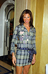 HEATHER KERZNER at a lunch and fashion show by Bruce Oldfield in aid of Barnados and held at Claridges, Brook Street, London W1 on 22nd September 2004.<br /><br />NON EXCLUSIVE - WORLD RIGHTS