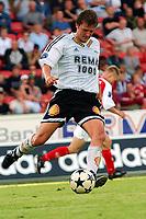 Fotball, 29. juni  2003, Tippeligaen, Rosenborg - Bryne<br /> 4-1, Roar Strand, Rosenborg<br /> <br /> Foto:Carl-Erik Eriksson, Digitalsport