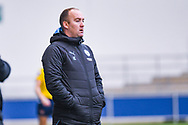 Nick Cushing of Manchester City Women (Manager) during the FA Women's Super League match between Manchester City Women and Arsenal Women FC at the Sport City Academy Stadium, Manchester, United Kingdom on 2 February 2020.