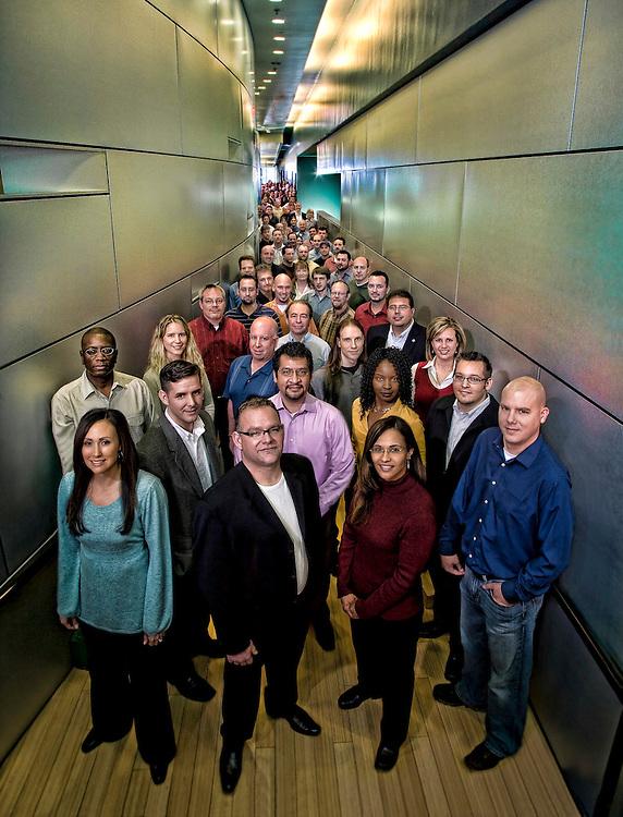 corporate group portraiture