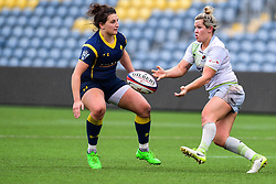 Marlie Packer of Saracens Ladies in action - Mandatory by-line: Craig Thomas/JMP - 30/09/2017 - RUGBY - Sixways Stadium - Worcester, England - Worcester Valkyries v Saracens Women - Tyrrells Premier 15s
