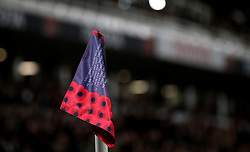 A special corner flag for Armistice Day