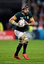 Victor Matfield of South Africa - Mandatory byline: Patrick Khachfe/JMP - 07966 386802 - 30/10/2015 - RUGBY UNION - The Stadium, Queen Elizabeth Olympic Park - London, England - South Africa v Argentina - Rugby World Cup 2015 Bronze Final.