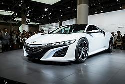 Honda NSX at Tokyo Motor Show 2013 in Japan