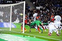 Goal Mario LEMINA - 18.01.2015 - Marseille / Guingamp - 21eme journee de Ligue 1<br /> Photo : Gaston Petrelli / Icon Sport