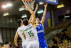 Ivan Batur of KK Rogaska during basketball match between Ilirija and Rogaska in Liga Nova KBM, Playoff for Champion, on March 10, 2018 in Hala Tivoli, Ljubljana, Slovenia. Photo by Ziga Zupan / Sportida