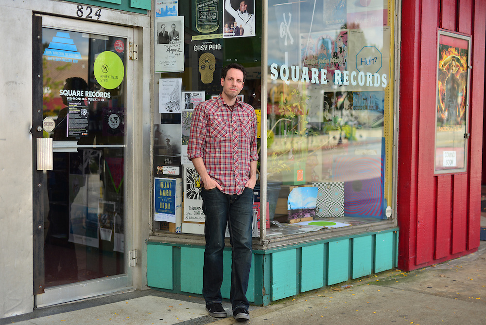 Owner of Square Records.