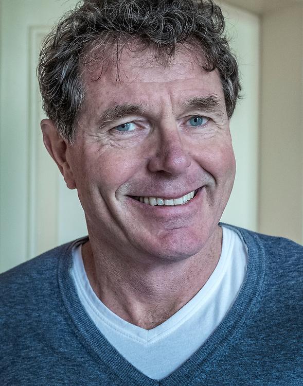 Nederland. Leiden, 28-03-2019. Foto: Patrick Post. Portret van Onno van de Stolpe, Ceo van Galapagos NV, een bedrijf dat geneesmiddelen ontdekt en ontwikkelt.